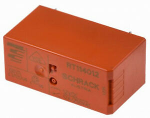 TE Connectivity   Relais   1 RT   RT114012- 12VDC  OU RT114024-24VDC