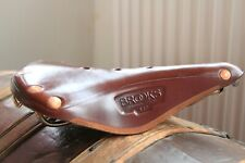 Brooks B17 Champion Special Saddle . Copper Rivets Rails. Leather. Honey/Brown
