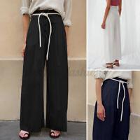 Oversize Femme Pantalons Loisir Décontracté lâche Quotidien Jambe Large Long