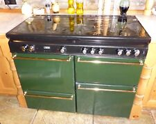 Stoves Newhome Dual Fuel Cooker with 4 gas rings, 1 gas 1 electric oven, grill.