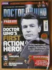 Dr Doctor Who magazine issue 448 27 June 2012 Neil Gaiman Glen McCoy Will Russel
