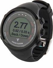 Voice Caddie T1 Hybrid Swing Tempo Golf GPS Watch - Black