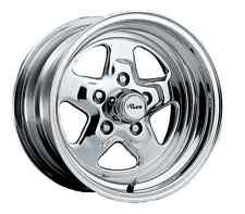 Pacer 521P-5861 Single 15X8 Polished 521P Dragstar 2,100 lbs. Max Load Wheel
