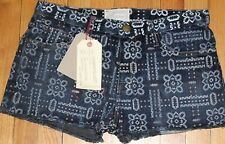 $188 CURRENT/ ELLIOTT BANDANA THE BOYFRIEND SHORTS SZ 29