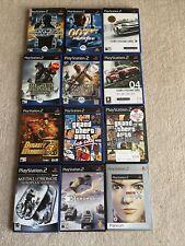 Job Lot of 12 Twelve PS2 Games