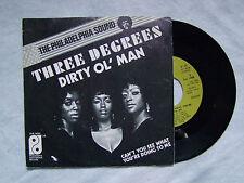 "THREE DEGREES""DIRTY OL' MAN-Disco 45 giri- PHILADEPLHIA I. Records 1973"""
