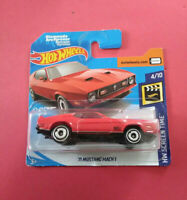 HOT WHEELS - 71 MUSTANG MACH 1 - JAMES BOND - SHORT CARTE - FYC92 - R 5706