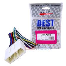 BHA7200 Aftermarket Radio Replacement Wire Harness for Chevrolet/Suzuki/Daewoo