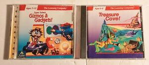 Gizmos Gadgets & Treasure Cove  The Learning Company PC Mac Ages 5-12 Education
