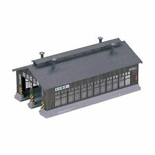 KATO N Scale 1/150 : 23-225 STRUCTURES Wood 2-Stall Engine House Kit Japan new.
