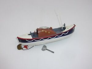 Vintage 1950's Tri-ang Motor Lifeboat with Box and Key Item 401S