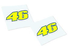 ROSSI 46 Classic Retro Car Motorcycle Decals Stickers