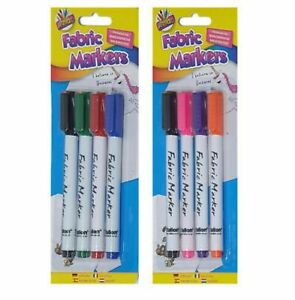 Fabric Pens Marker Pens Textile Permanent Coloure Pens Markers