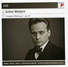 Pierre Boulez - Anton Webern: Complete Works: Op. 1-Op [New CD] Holland - Import
