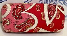 Vera Bradley Eyeglass Case Red Pink Piccadilly Clamshell Sunglasses Hard Large