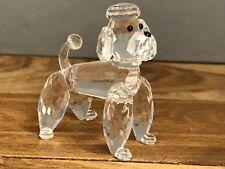 Swarovski Figur Pudel stehend 5,7 cm. Top Zustand