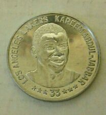 1985-86 Kareem Abdul-Jabbar Denny's Aluminum Coin - EX