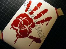 Jeep Decal Zombie CJ TJ YK JK XJ LJ WJ ZJ  Vinyl Sticker Decal