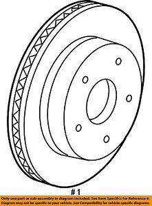 CHRYSLER OEM-Disc Brake Rotor 4779599AB