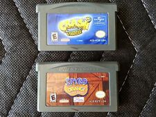 Game Boy Advance (Gba) 2 Game Lot - Crash Bandicoot 2: N-Tranced & Spyro Orange