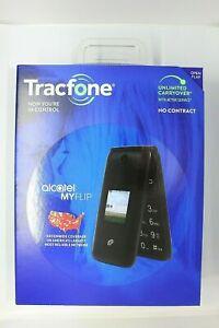 Alcatel MyFlip 4GB (Unlocked) Cellphone - Black NEW IN BOX