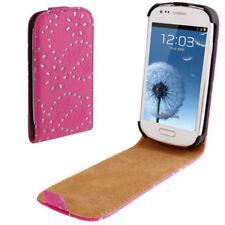 Flip Case Tasche Diamond für Samsung i8190 Galaxy S3 Mini Handytasche in pink