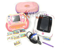 MOBIGO 2 w/ CASE & 7 GAMES & INNOTAB 2S w/ 1 GAME, Vtech Charger Included, Pink