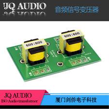 E19 permalloy Audio isolation transformer 600:600 unbalanced to balanced convert