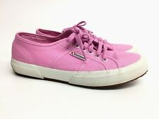 Supra Pink Canvas Tennis Athletic Summer Shoes Women's Size 40 US 9.5 10