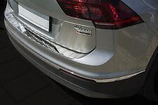 Ladekantenschutz für VW Tiguan 2 II 5N 2015-2018 mit Abkantung Edelstahl