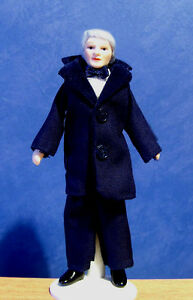 1/12, Dolls House Miniature Grand Father Gentleman doll people miniatures LGW