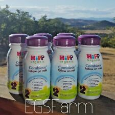 6 pack Hipp Organic Combiotic Follow On Milk 250ml Ready to use Bottles