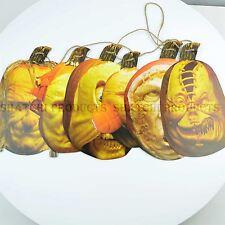 Halloween citrouilles effrayant visage bannière adolescent décorations parti parti approvisionnement