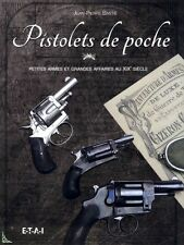 Pistolets de poche - Pocket pistols, French book