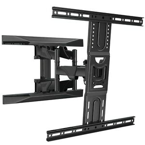 """Invision 37""""-65"""" TV Wall Bracket Mount with Tilt Swivel & Extend Movement EV600"""