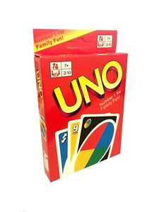 UNO CARD GAME CARDS Matte Latest Version Family Fun Indoor Party UK
