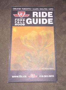 2009 Toronto TTC Ride Guide - Subway Map