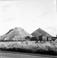 WASHINGTON c.1957 -Train Wagons Mines Terrils Angleterre - Négatif 6 x 6 - UK 67