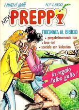 """""""NEW PREPPY"""" N.7 EDIFUMETTO ANNI 80 (FUMETTO ROSA DEDICATO ALLE SFITINZIE)"""