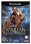Spartan - Total Warrior (Nintendo GameCube, 2005, DVD-Box)