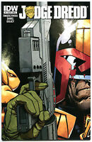 JUDGE DREDD #1 A, NM+, IDW,  2012, Sci-fi, Police, I am the Law, more in store