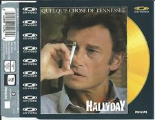 JOHNNY HALLYDAY - Quelque chose de Tenessee CD VIDEO SINGLE 5TR (PAL) 1988 UK