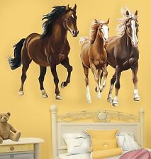 WALLIES WILD HORSES wall stickers 2 Mural decal Pony Farm Colt Animal room decor