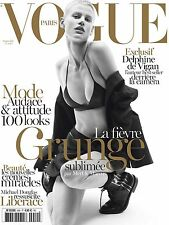 VOGUE Paris Magazine,Saskia de Brauw,Saint Laurent,Michael Douglas Liberace NEW