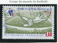 TIMBRE FRANCE OBLITERE N° 2209 COUPE DU MONDE FOOTBALL Photo non contractuelle