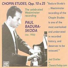 Badura-Skoda Plays Chopin, New Music