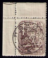 Dt. Besetzung im II. Weltkrieg, Russland Pleskau, Mi-Nr. 12 b y, Eckrand