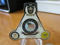 United States Navy Naval Medical Center Portsmouth Virginia Challenge Coin #515A