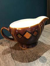 Denby Shiraz Brown Milk Cream Jug