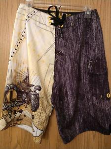 Oakley Fuente Board Shorts Size 30 Cigar Wrapper 2009 Hijinx Antix